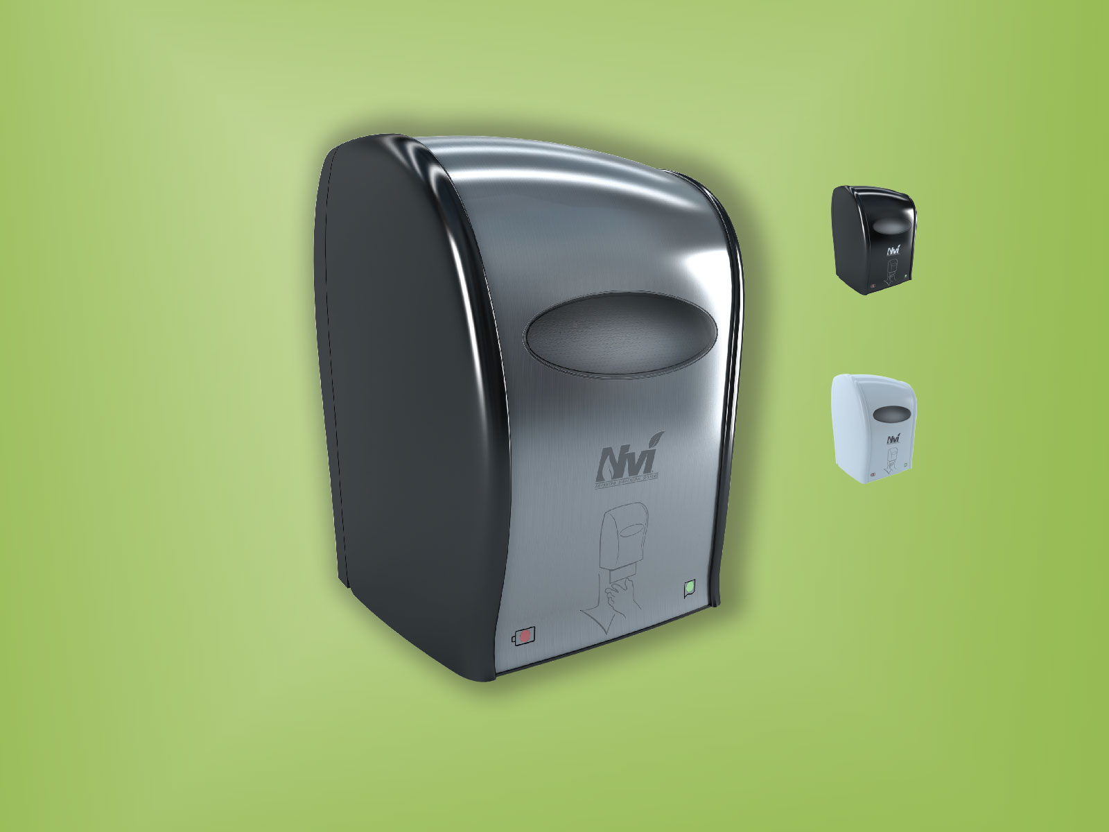 Electronic Hard Wound Roll Towel Dispenser