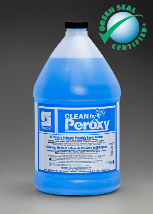 Clean by Peroxy all-purpose cleaner for removing everyday soils and residues