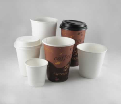 Lolli Paper hot cups in a variety of sizes