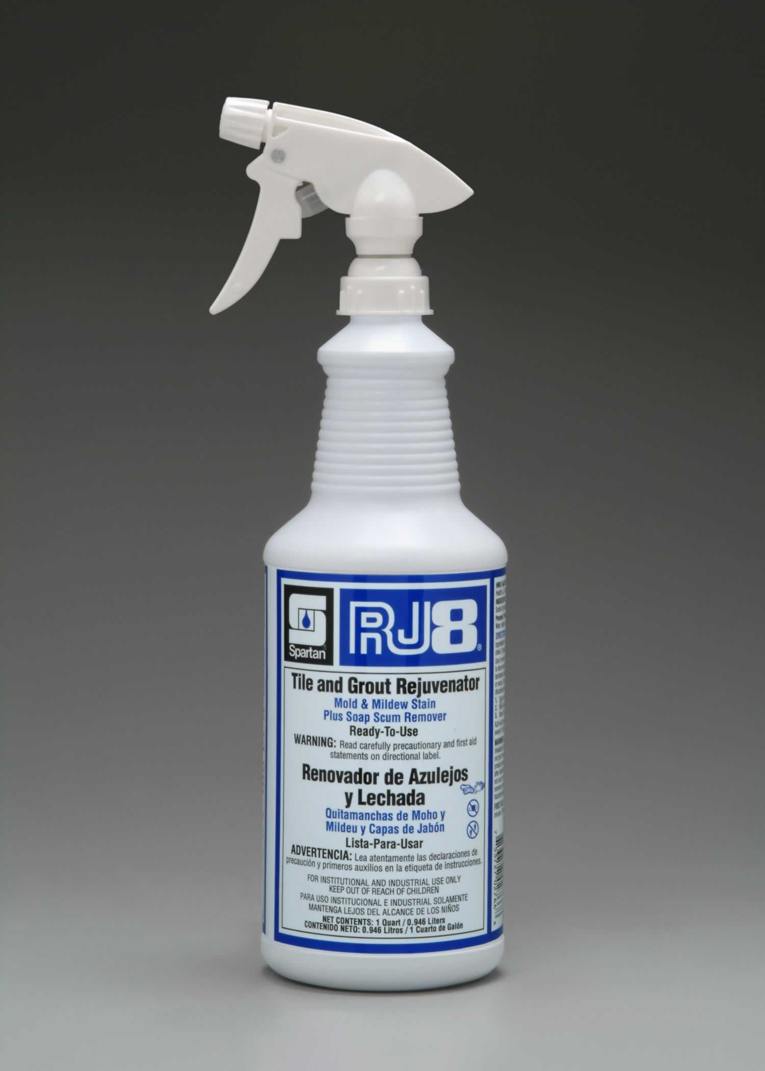 RJ8 tile and grout rejuvenator