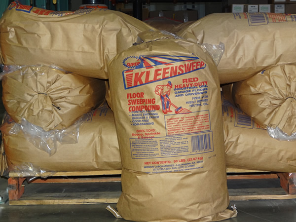 Kleensweep   Floor Sweeping Compound