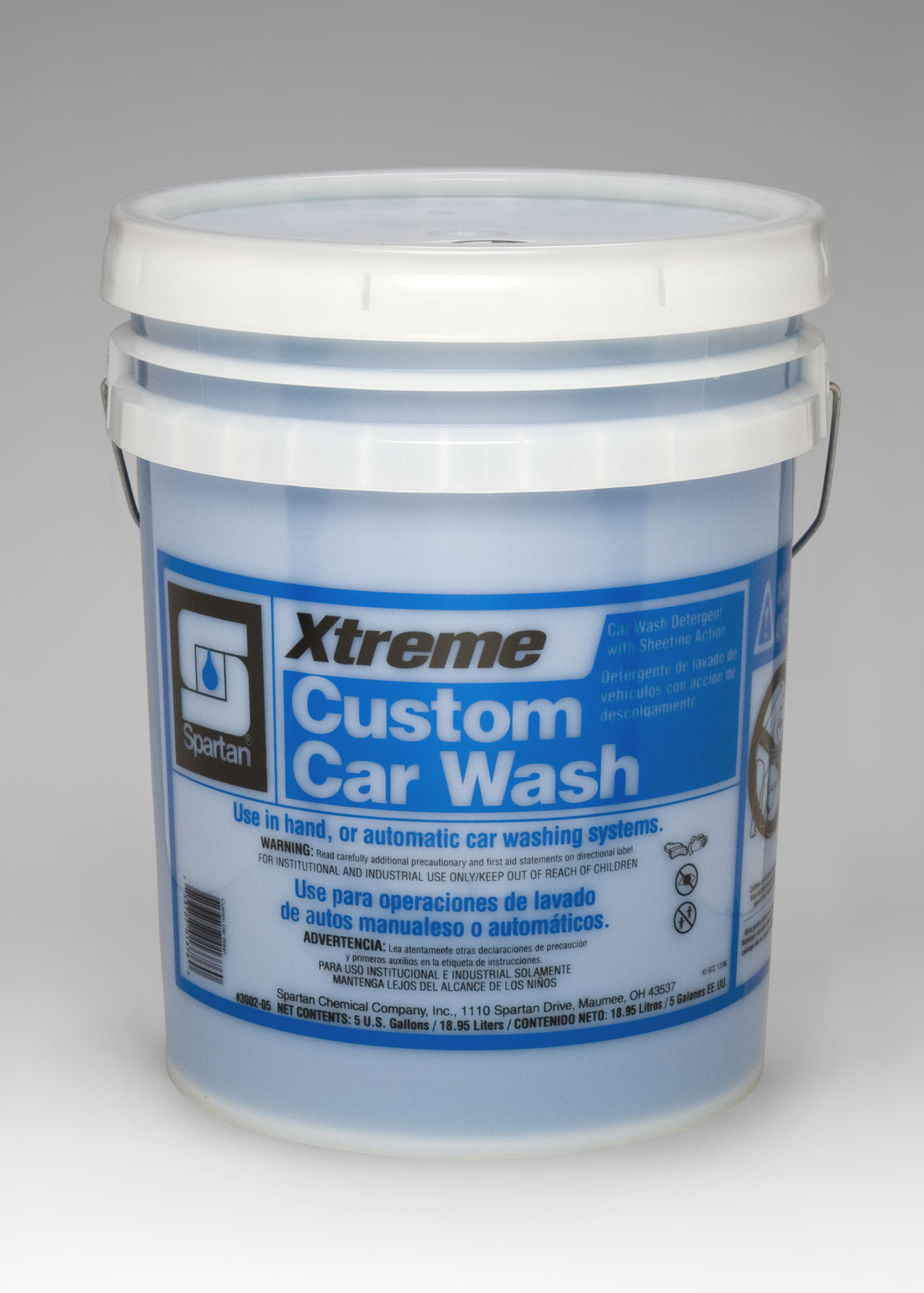 Spartan Xtreme custom car wash concentrated cleaner